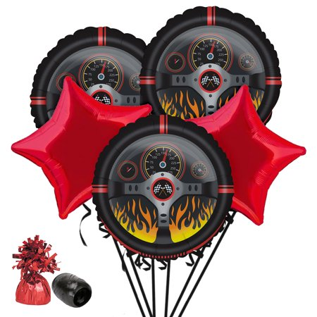Racecar Racing Party Balloon Bouquet Kit](Balloon Car Design)