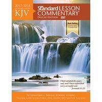 KJV Standard Lesson Commentary Deluxe Edition 2017-2018