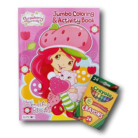 Strawberry Shortcake Coloring Book (Strawberry Shortcake Jumbo Coloring and Activity Book with Crayola)