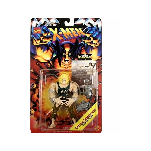 X-Men Invasion Series Captive Sabretooth Action Figure