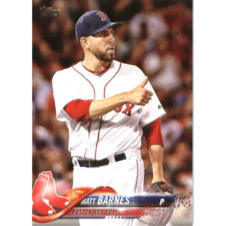 - 2018 Topps #152 Matt Barnes Boston Red Sox Baseball Card