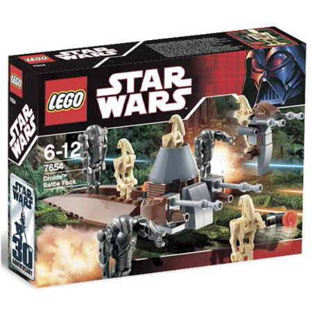 Star Wars Revenge of the Sith Droids Battle Pack Set LEGO