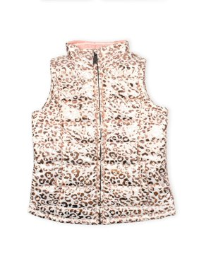 p.s.09 from aeropostale Metallic Print Puffer Vest (Little Girls & Big Girls)