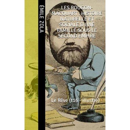 Les Rougon-Macquart : Histoire naturelle et sociale d'une famille sous le second empire - (Histoire D'horreur Et D'halloween)