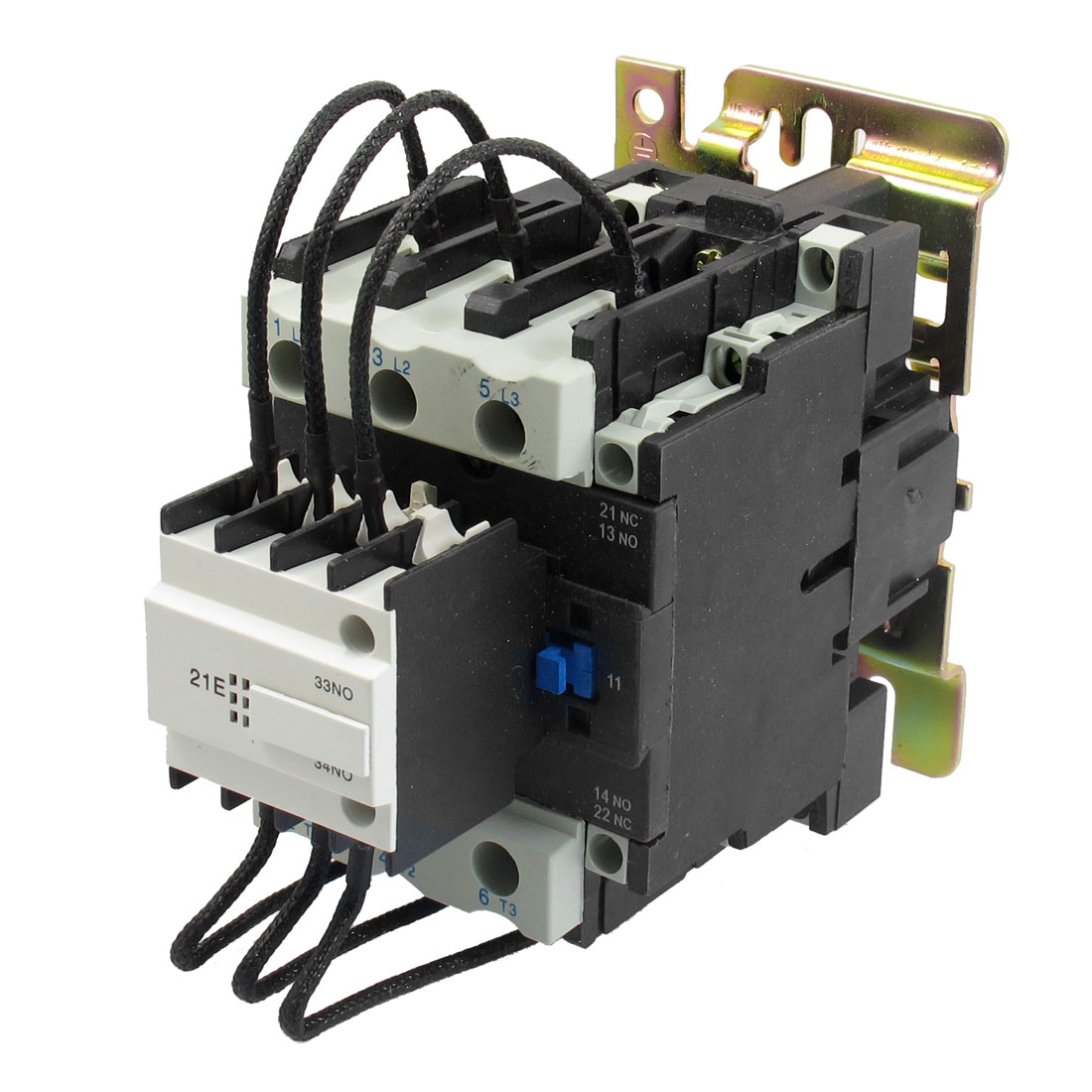 CJ19-63 Ui 500V 220V Coil 63A Pole 1NO Changeover Capacitor  Contactor - image 1 of 1