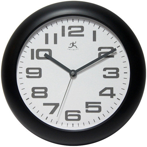 Infinity Instruments Clear Wall Clock