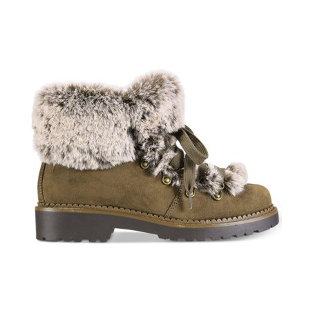 ESPRIT Womens cameron-e Faux Fur Closed Toe Ankle Cold Weather - image 1 of 2