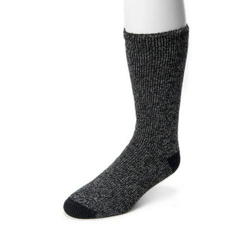 MUK LUKS Men's 1-Pair Thermal Socks