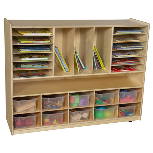 Wood Designs Multi-Storage with 10 Trays