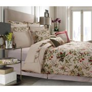 Marwah Corporation Maui Cotton Percale 12-Piece Bed in a Bag with Deep Pocket Sheet Set