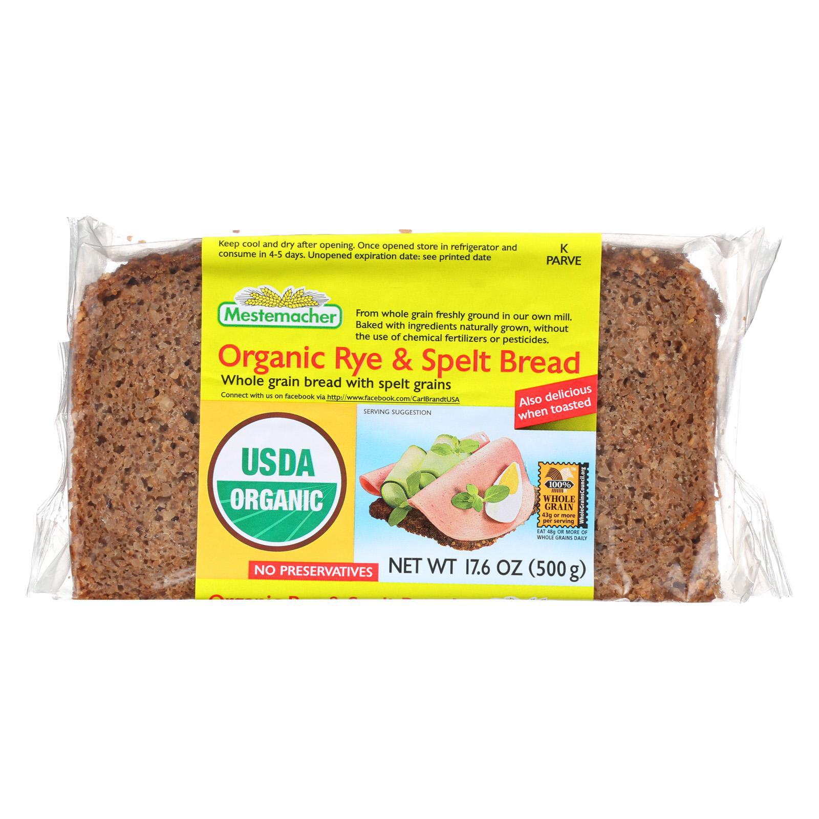 Mestemacher Mestemacher  Bread, 17.6 oz