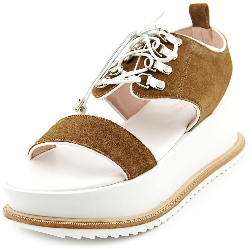 Kate Bosworth x Matisse Dawn Women  Open Toe Synthetic Brown Platform Sandal