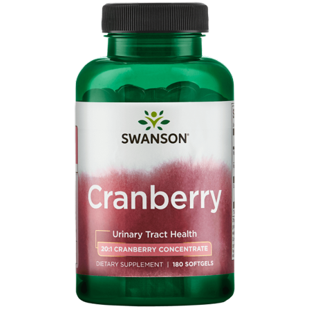 Concentrated Cranberry - Swanson Cranberry 20:1 Concentrate 180 Sgels