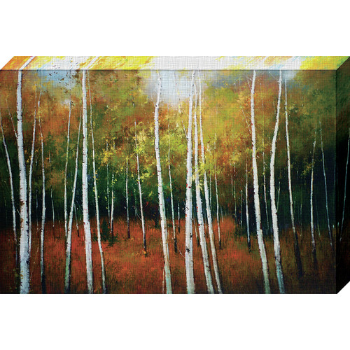 North American Art Forest Spires By Scott Clifton Painting Print On Wrapped Canvas Walmart Inventory Checker Brickseek