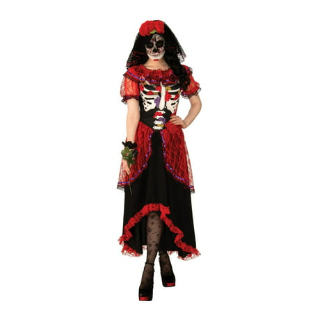 Halloween Day of The Dead Woman Adult