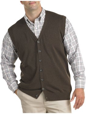 Mens Big Tall Sweater Vests Walmartcom