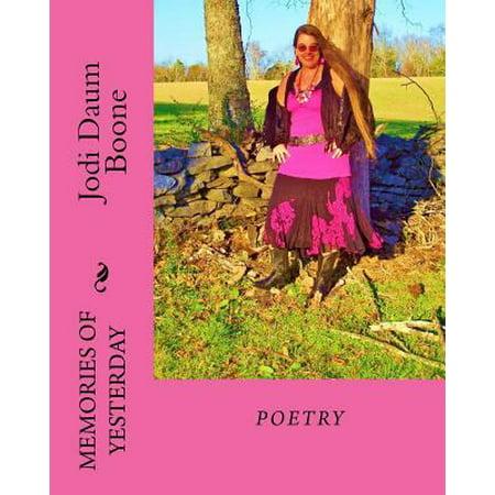 Memories of Yesterday: Poetry