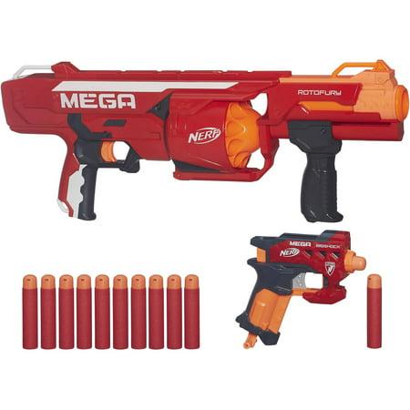 Nerf N Strike Mega Series Rotofury Blaster Walmart Com