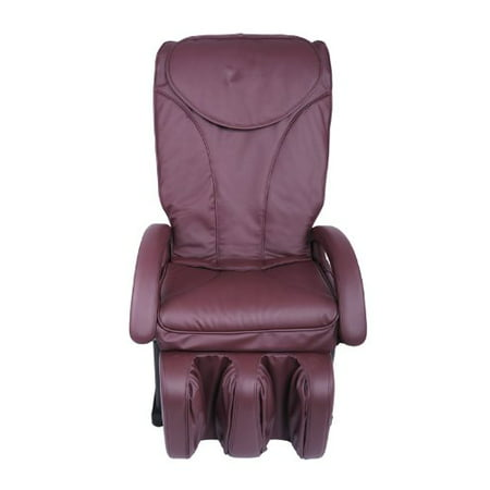 Excellent New Full Body Shiatsu Burgundy Massage Chair Recliner Bed Ec 69 Bralicious Painted Fabric Chair Ideas Braliciousco