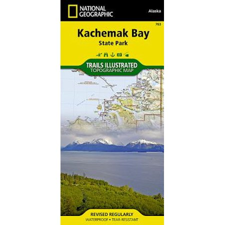 National Geographic Trails Illustrated Map Kachemak Bay State Park