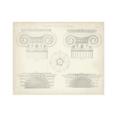 Greek and Roman Architecture VIII Print Wall Art By Thomas Kelly