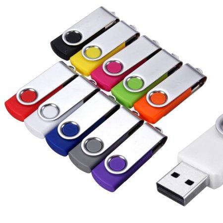 Multicolored 64MB USB 2.0 Flash Memory Thumb Stick U Disk Pen Thumb Drive PC