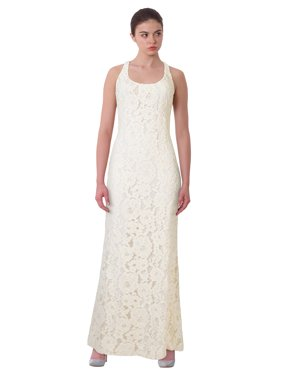 07f621a91db2 Product Image Lauren Ralph Lauren Floral Lace Cutout Back Evening Gown Dress