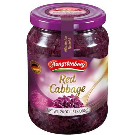 Pickled Red Cabbage (Hengstenberg) 24 oz