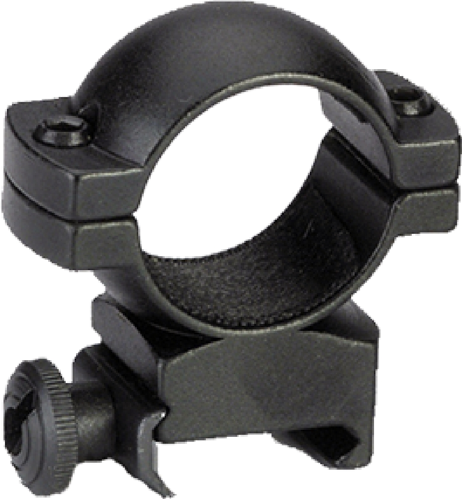 "Traditions Tra Alum Scope Ring Blk 1"" Hi"