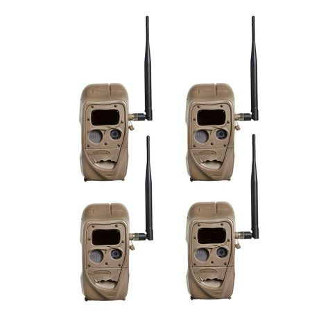 Cuddeback 4 Black Flash CuddeLink 20MP Wireless Invisible IR Game Trail Camera