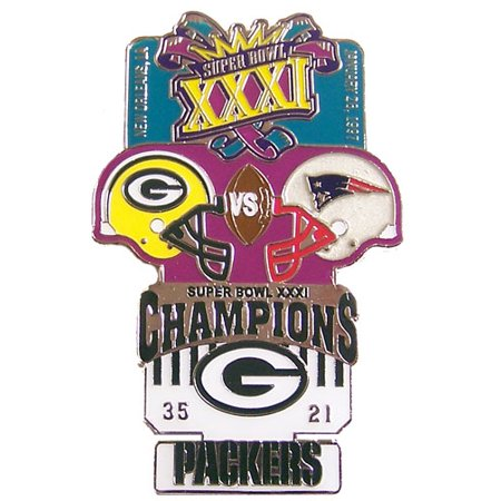 Super Bowl XXXI (31) Oversized Commemorative Pin