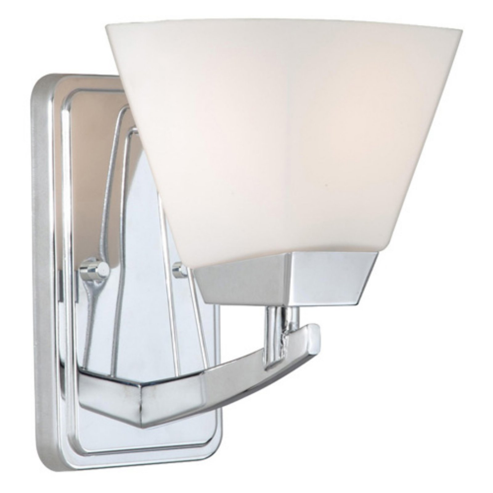 Vaxcel Kendall 1-Light Vanity - 5W in. Chrome