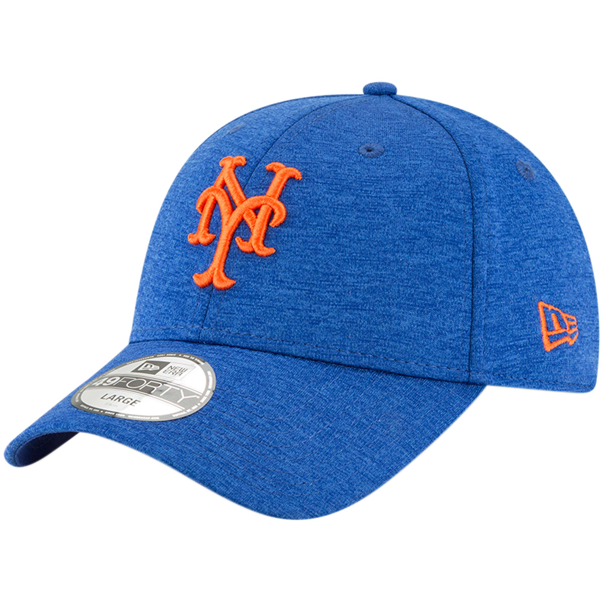 New York Mets New Era Rapid Team Tech 49FORTY Fitted Hat - Royal