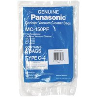 """Panasonic MC-150PF 5-Pack Of Canister Vacuum Bags"""