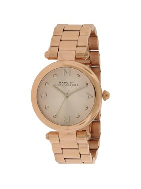 Marc Dotty Rose Gold-Tone Women's Watch, MJ3449