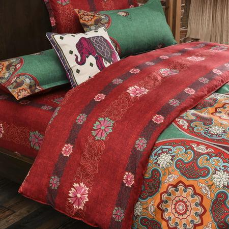3Pcs Winter Warm Bedding Sets Comforter Quilt Covers Sheet Pillow Case Bed Linen Sets Bedclothes Bedspread ()
