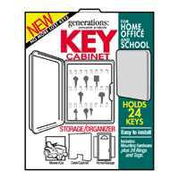 LOCKABLE PLASTIC KEY CABINET