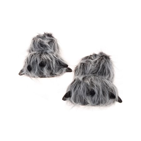 SILVER LILLY NEW Bear Paw Plush Animal Halloween Costume Slippers Panda Bear Slippers