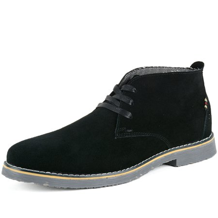 c535ae63a1d6 Alpine Swiss - Alpine Swiss Beck Mens Suede Chukka Desert Boots Lace Up  Shoes Crepe Sole Oxford - Walmart.com
