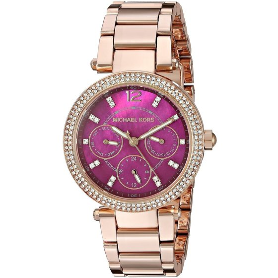 96106eee30cc Michael Kors - Women s Mini Parker Rose Gold-Tone Watch MK6403 ...