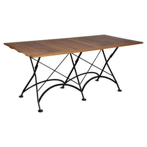 Furniture Designhouse Rectangular European Cafe Folding Table - 32 x 72 in.