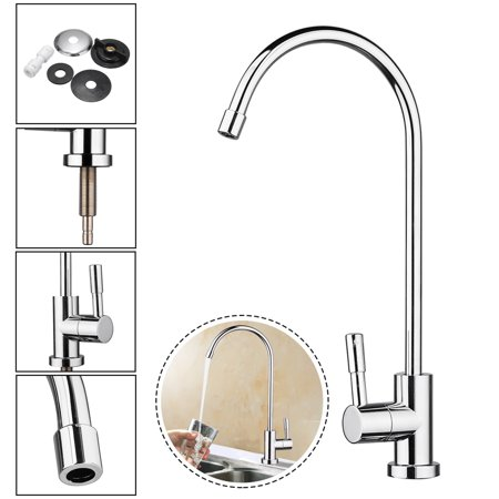 Lead Free 360 176 1 4 Stainless Steel Kitchen Sink Faucet