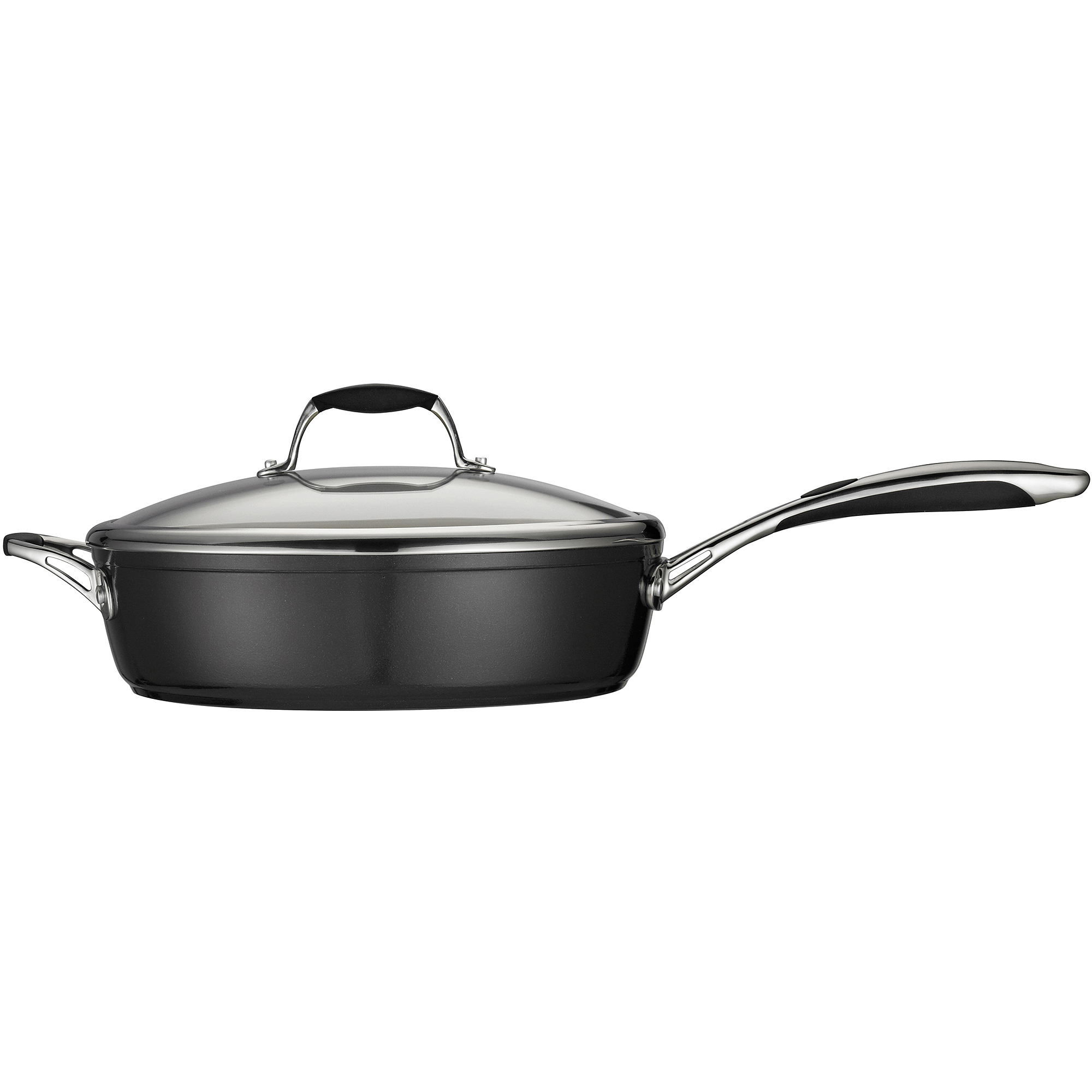 "Tramontina Gourmet Ceramica_01 Deluxe 11"" Covered Deep Skillet"