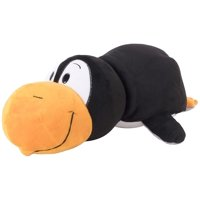 "FlipaZoo 16"" Plush 2-in-1 Pillow - Black Penguin Transforming White Seal"