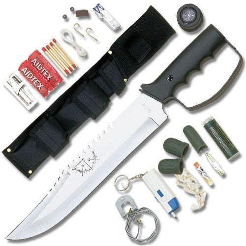 United Cutlery Bush Master Survival Knife Multi-Colored
