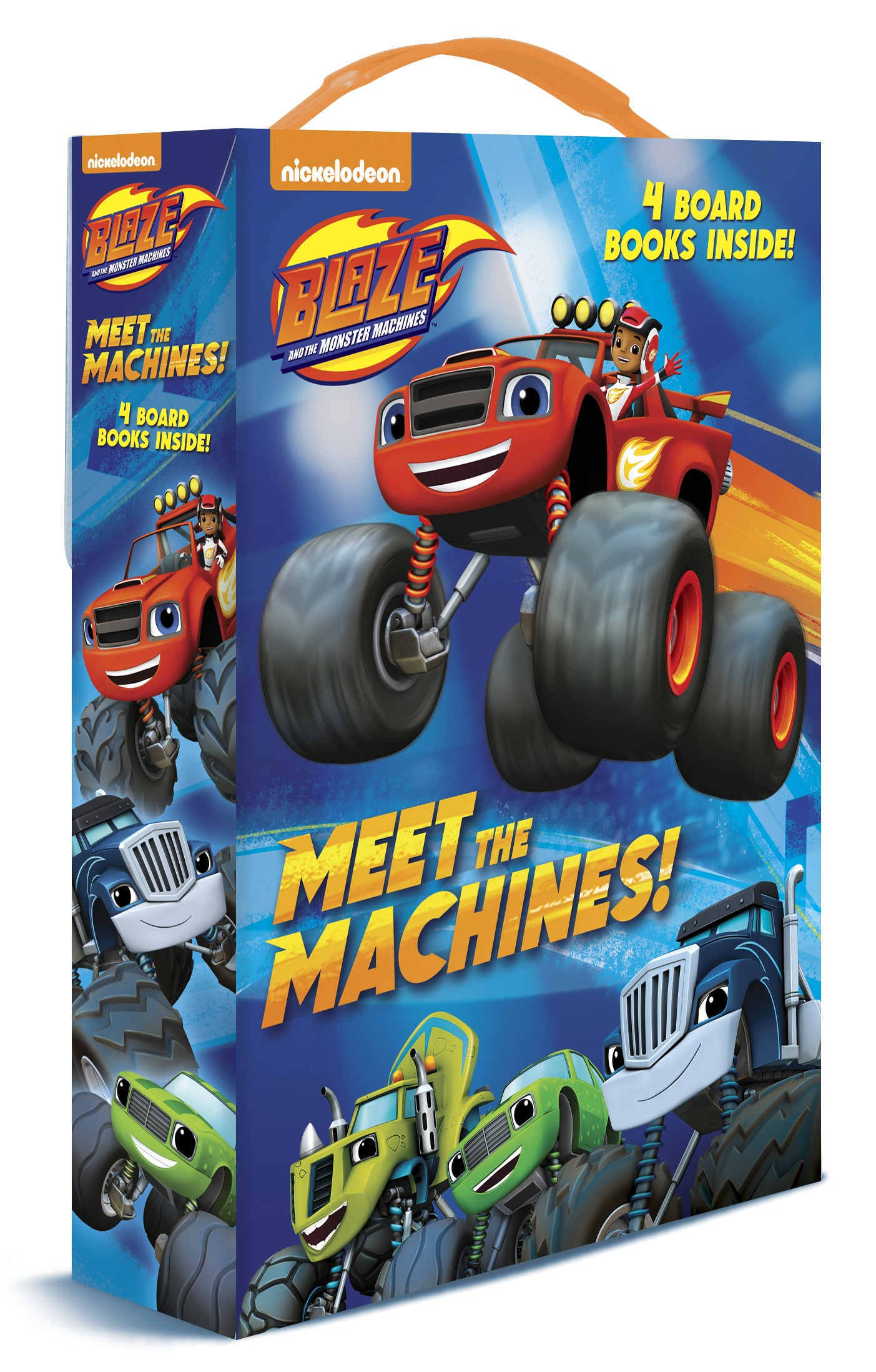 Meet the Machines! (Blaze and the Monster Machines) by Random House Inc
