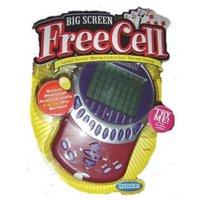 radica free cell big screen games