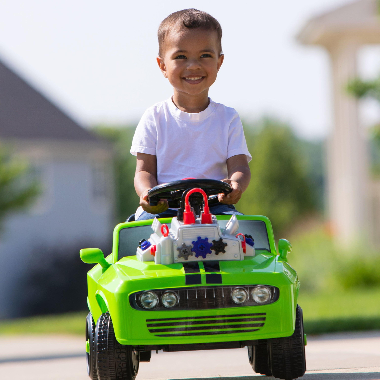 Fix Ride Car Toddler Ride On Toy By Kid Trax Auto Shop Toy Walmart Com Walmart Com