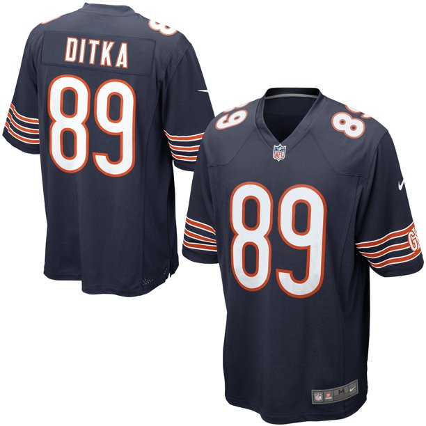 Chicago Bears Nike Mike Ditka Retired Player Game Jersey - Navy