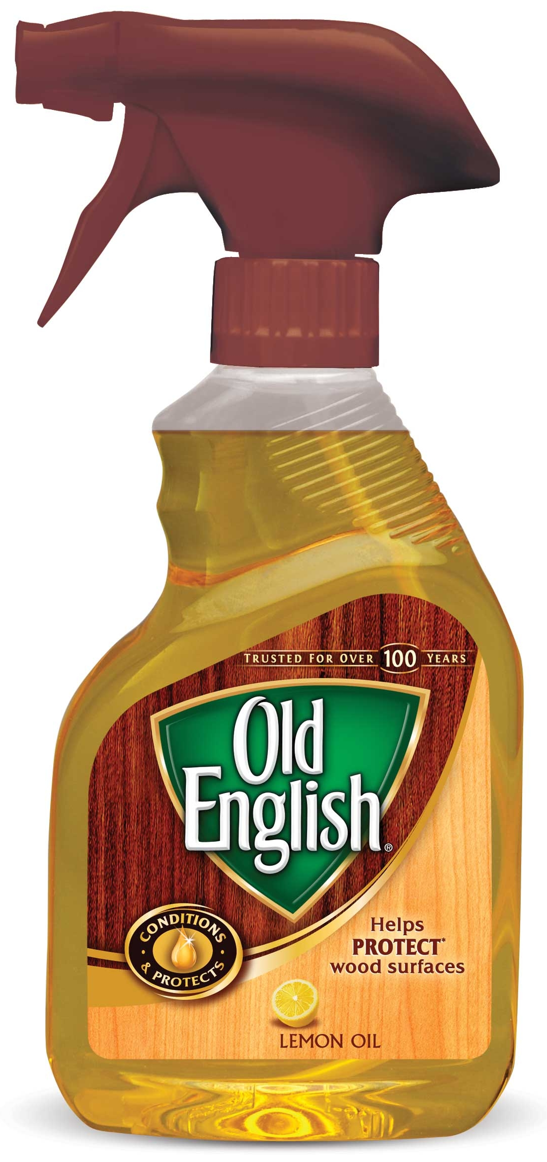 Superbe Old English Lemon Oil Furniture Polish, 12oz Bottle